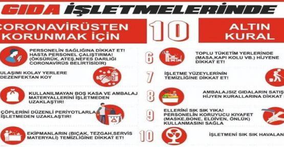 '10 ALTIN KURAL' ÇAĞRISI