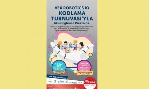 2019'UN ILK VEX ROBOTICS TURNUVASINI KAHRAMANMARAŞ'TA DÜZENLENİYOR