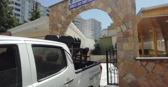 46 CAMİ DEZENFEKTE EDİLİYOR