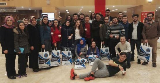81 İLDEN 81 ÖĞRENCİ TÜRKOĞLU'NDA BULUŞUYOR