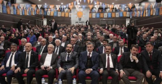 AK PARTİ TÜRKOĞLU KONGRESİ YAPILIYOR