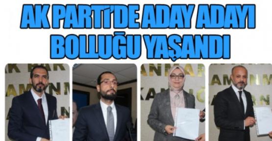 AK PARTİDEN ADAY ADAYLARININ LİSTESİ