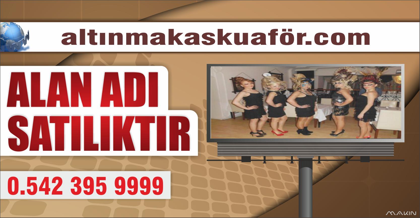 ALTINMAKASKUAFÖR.COM SİTESİ SATILIK