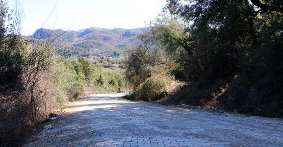 ANDIRIN YOLLARINA PARKE DÖŞENDİ