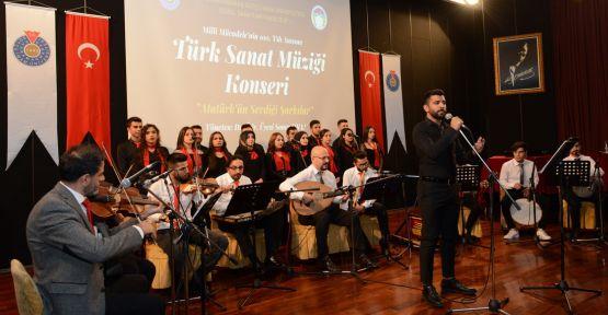 ATATÜRK'ÜN SEVDİĞİ ŞARKILAR SESLENDİRİLDİ