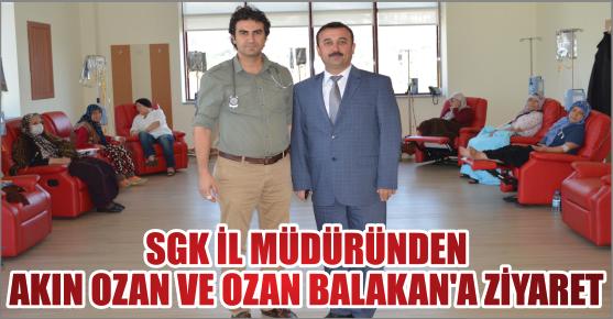 BALAKAN'DAN OZAN VE BALAKAN'A ZİYARET