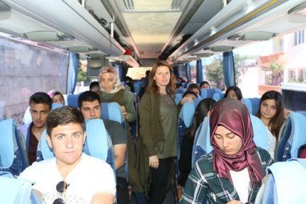 BAŞKAN BOZDAĞ, 40 KİŞİLİK HEYETİ ANKARA'YA UĞURLADI