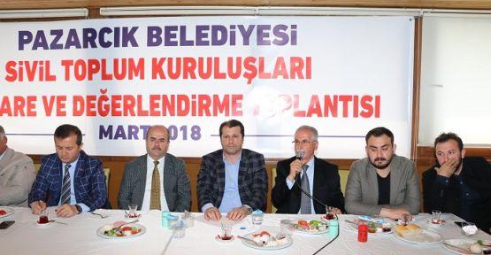 BAŞKAN BOZDAĞ STK'LARLA BİR ARAYA GELDİ