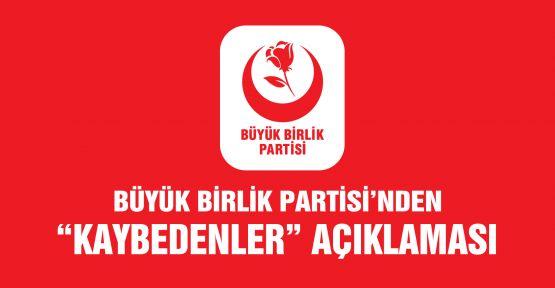 """""""BBP, ÜYE SAYISINI EN FAZLA ARTIRAN PARTİ OLDU!"""""""