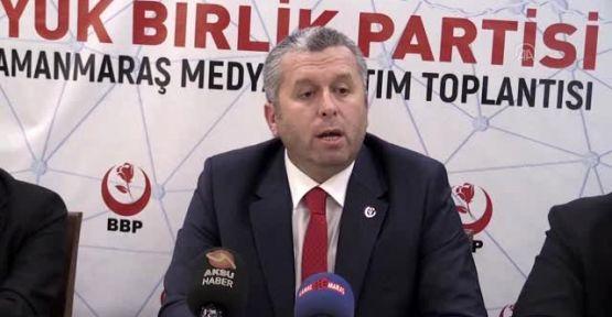 """BBP'Lİ YARDIMCIOĞLU, """"ESNAFA DESTEK VERİLMELİ"""""""