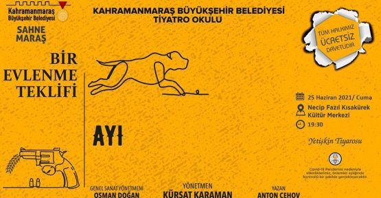 """""""BİR EVLENME TEKLİFİ"""" TİYATRO OYUNU"""
