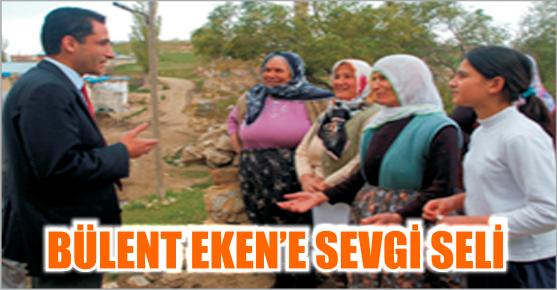 BÜLENT EKEN AFŞİN'İ KARIŞ KARIŞ GEZİYOR