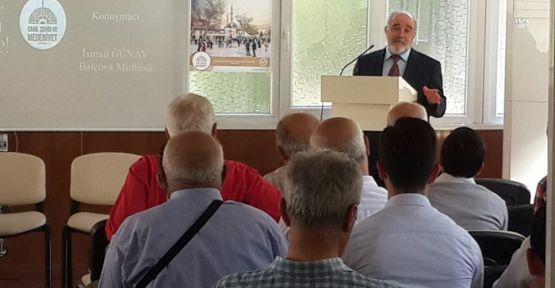 CAMİLER HAFTASI KONULU KONFERANS VERİLDİ