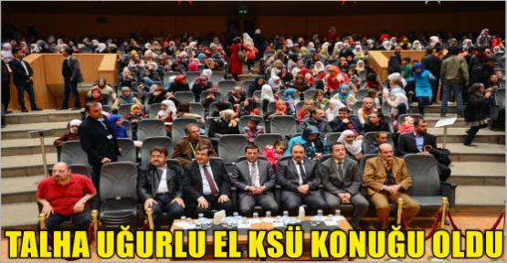 ÇANAKKALE SOHBETLERİ KSÜ'YE KONUK OLDU