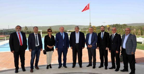 ÇGC'DEN KONUKOĞLU'NA ZİYARET