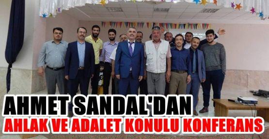 DİYANET SEN'DEN KAMU'DA AHLAK VE ADALET KONFERANSI