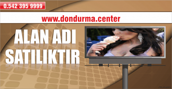 DONDURMA.CENTER ALAN ADI SATIN ALINDI