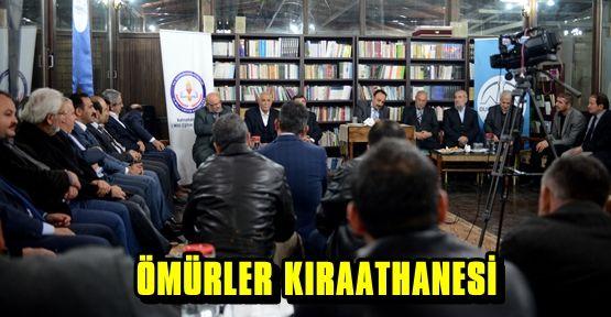 EĞİTİME ADANMIŞ YAZARLAR KIRAATHANE'DE BULUŞTU