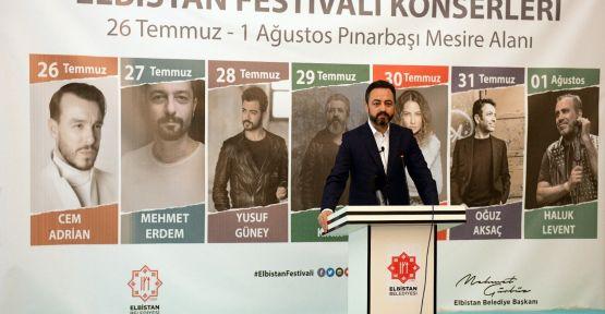 ELBİSTAN FESTİVALİ TÜRKİYE'NİN EN BÜYÜK FESTİVALLERİNDEN