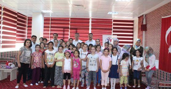 ELBİSTAN'DA YAZ SPOR OKULU ETKİNLİKLERİ