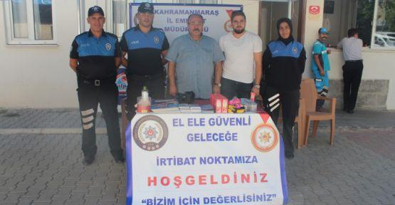 EMNİYET KSÜ'DE STAND AÇTI