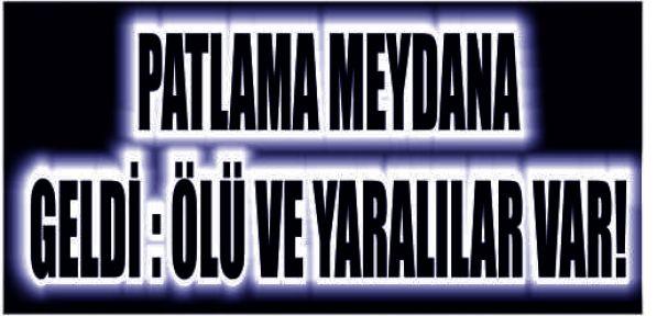 FABRİKA'DA PATLAMA!