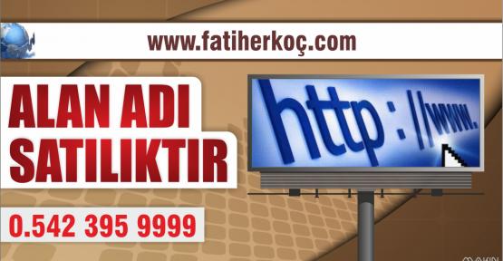 FATİHERKOÇ.COM SATILIK
