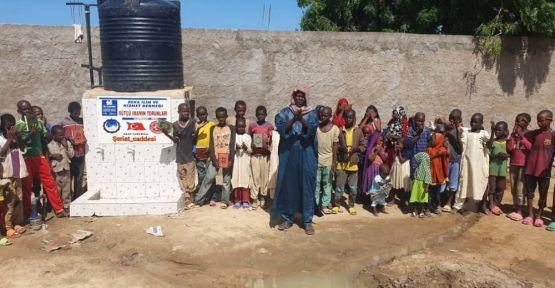 HAYIRSEVERLERDEN  YARDIM PARALARI İLE  AFRİKA'YA SU KUYUSU