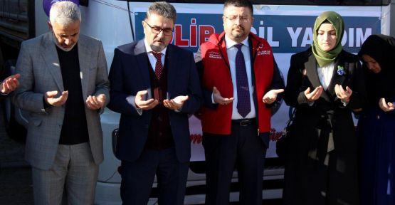 İDLİB'E 6 TIR YARDIM