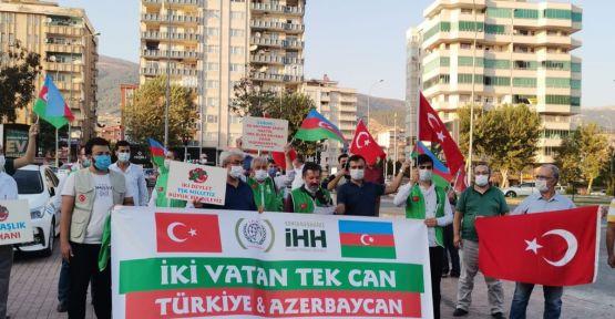İHH'DAN AZERBAYCAN'A DESTEK