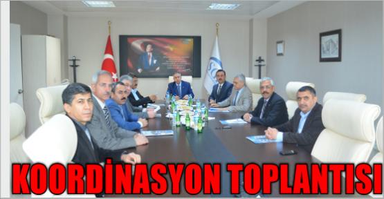 İLLER KOORDİNASYON TOPLANTISI YAPILDI