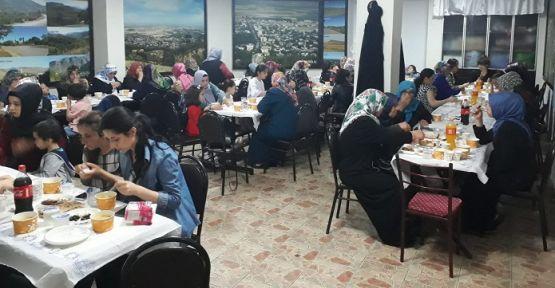 İSTANBUL'DAKİ TÜRKOĞLU'LULAR İFTARDA BULUŞTU