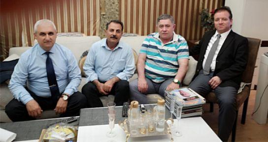 İZMİR-DER MARAŞ MEDYA CENTER'İ ZİYARET ETTİ
