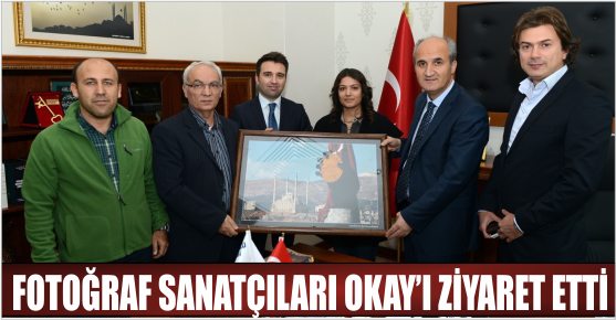 KAFSAD HEYETİ BAŞKAN OKAY'I ZİYARET ETTİLER