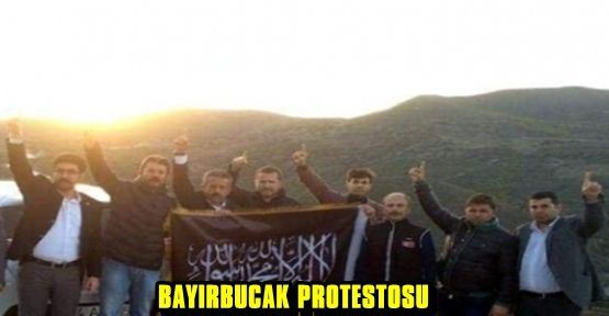 KAHRAMANMARAŞ ALPEREN OCAKLARI BAYIRBUCAK'TA YAŞANANLARI PROTESTO ETTİ