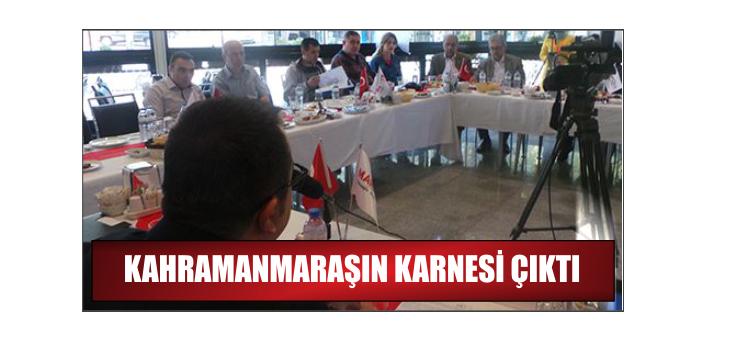 KAHRAMANMARAŞ BAKANINI İSTİYOR