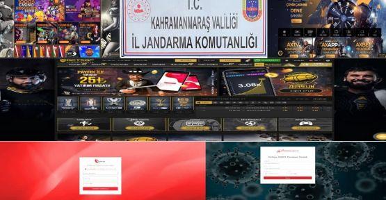 KAHRAMANMARAŞ JANDARMADAN SİBER OPERASYON