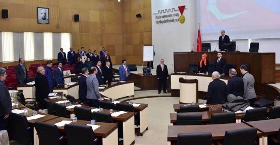 KAHRAMANMARAŞ'TA 2017'NİN İLK MECLİS TOPLANTISI YAPILDI