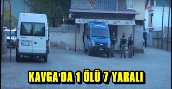 KAHRAMANMARAŞ'TA AİLE KAVGASINDA 1 KİŞİ ÖLDÜ