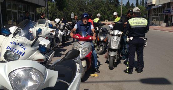 KAHRAMANMARAŞ'TA ÇALINTI MOTOSİKLET OPERASYONU