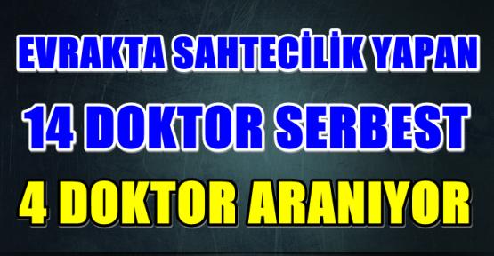 """KAHRAMANMARAŞ'TA """"EVRAKTA SAHTECİLİK"""" OPERASYONUNDA 4 DOKTOR ARANIYOR"""