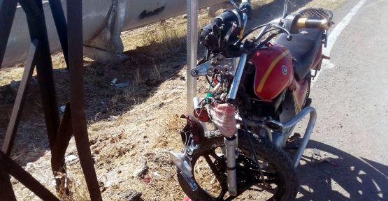 KAHRAMANMARAŞ'TA MOTOR KAZASI