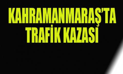 KAHRAMANMARAŞ'TA OTOMOBİL DEVRİLDİ