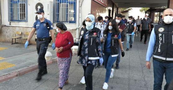 KAHRAMANMARAŞ'TA TORBACILARA 500 POLİSLE ŞAFAK BASKINI
