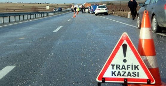 KAHRAMANMARAŞ'TA TRAFİK KAZASI 2 YARALI
