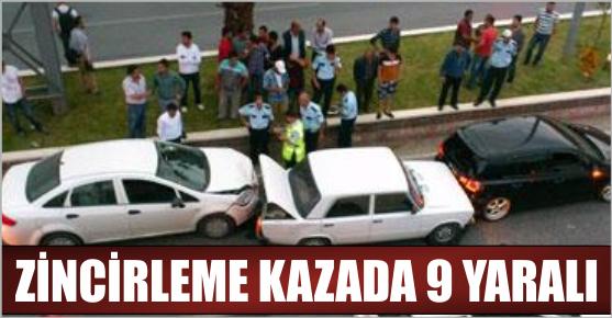 KAHRAMANMARAŞ'TA ZİNCİRLEME KAZA