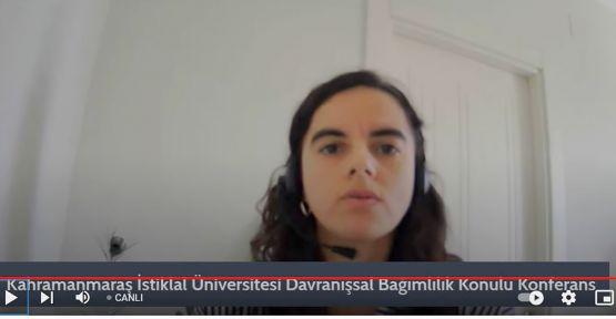 """KİÜ 'DE """"DAVRANIŞSAL BAĞIMLILIK"""" KONFERANSI"""