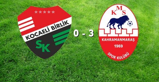 KMS 3 - 0 GALİP GELDİ