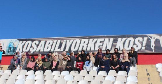 """""""KOŞABİLİYORKEN KOŞ"""" PROJESİ"""