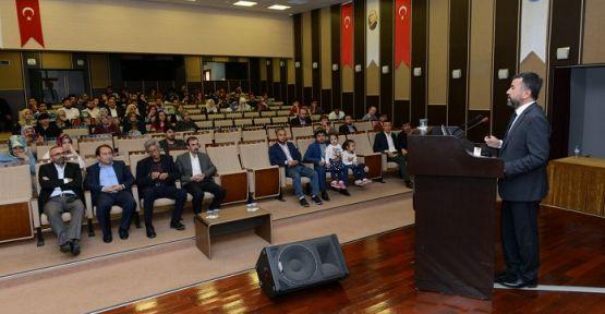 KSÜ'DE YENİ İPEK YOLU PROJESİ KONFERANSI DÜZENLENDİ